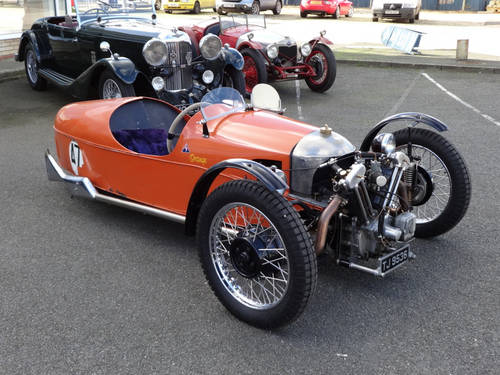 3 Wheeler Morgan Sports Car Club